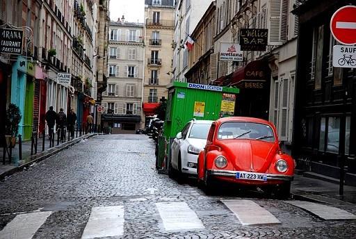 Bild Autos in der Stadt