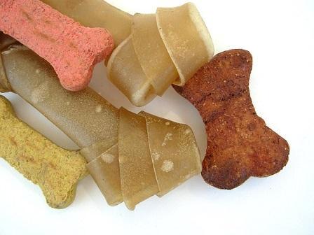 Bild verschiedene Hundesnacks