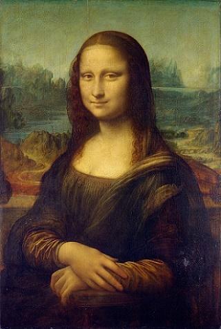 Gemälde Mona Lisa schwule Kunst
