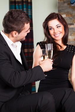Alkohol beim Flirt