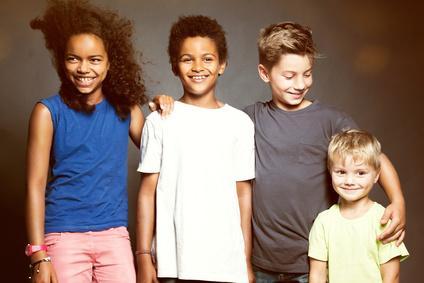 Bild glückliche Kinder