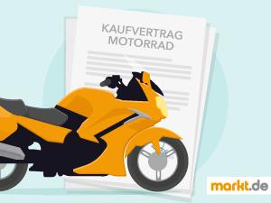 Grafik Kaufvertrag Motorrad