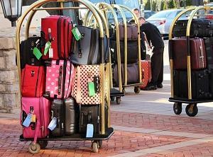 Bild Stapel von Gepäckstücken