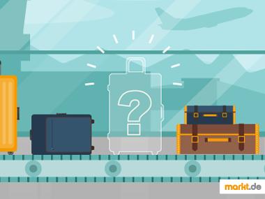 Grafik Kofferband mit fehlendem Koffer