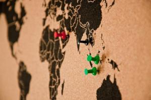 Route der Weltreise