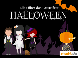 Infografik Halloween