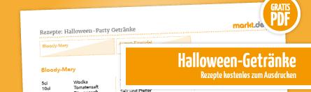 Grafik Halloween-Getränke Rezepte