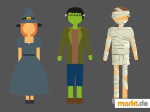 Bild Halloweenkostüm
