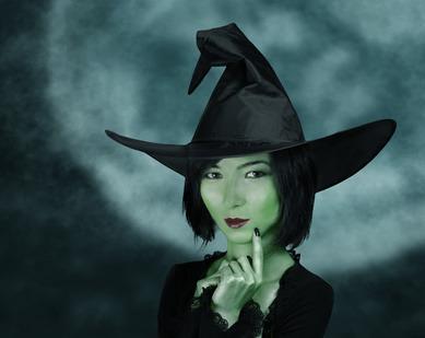 Bild von Hexen Kostüm Halloween