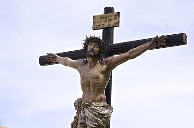 Bild Jesus Christus am Kreuz