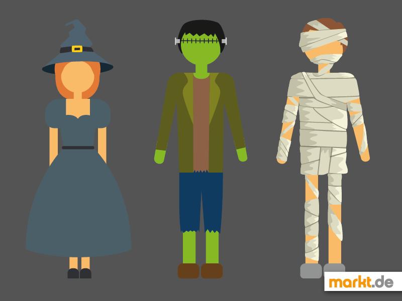 Halloween Kostüm Ideen | markt.de