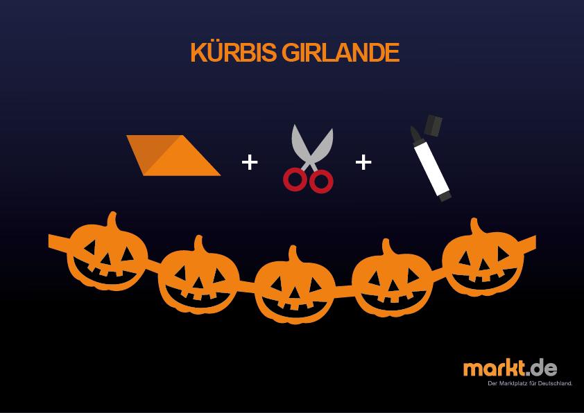 Tipps f r eine halloweenparty - Halloween girlande ...
