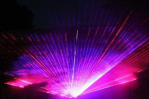 Bild Lasershow