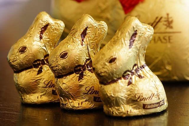 Bild Schokoladen Hase von Lindt