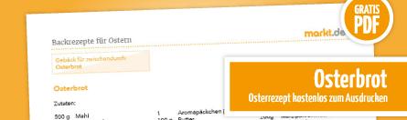 Grafik Bild Osterbrot Rezept Download