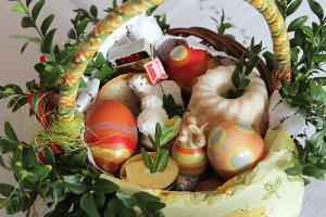 Bild Osterkorb selbstgebacken