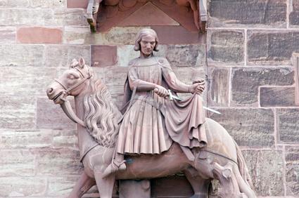 Bild Sankt Martin teilt seinen Mantel