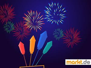 Bild Silvesterraketen und Feuerwerk