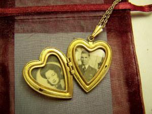 Antiker Herzanhänger