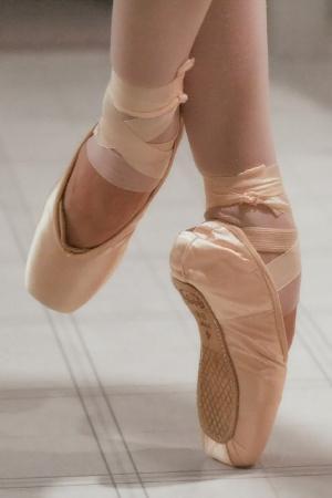 Bild Ballett Tanzschuhe