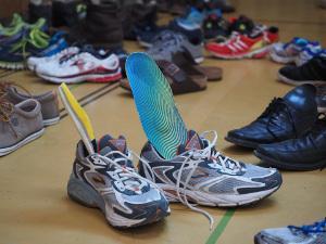 Bild Einlegesohlen für zu weite Schuhe