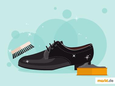 Grafik Schuhpflege richtig gemacht