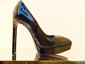 Bild Schuhpflege Lackleder