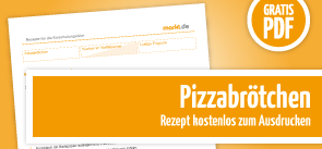 Grafik Downloadbild Pizzabrötchenrezept