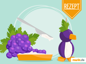 Grafik Rezept für leckere Pinguine