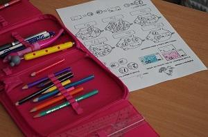 Einschulung Schulmaterial