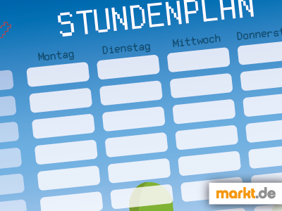 Grafik Download Stundenplan 2