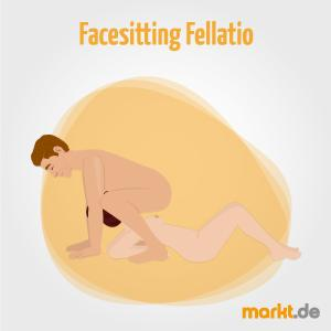 Bild Facesitting Fellatio Sexstellung
