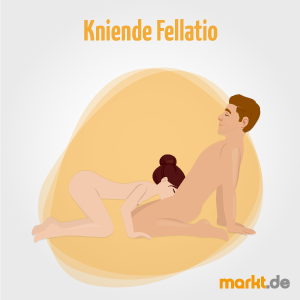 Kniende Fellatio / Penismassage
