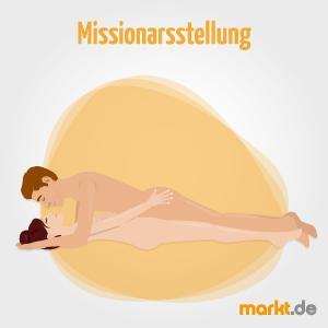 Bild Sexstellung Missionarstellung