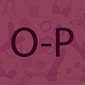 Bild Sexlexikon Buchstabe O und P