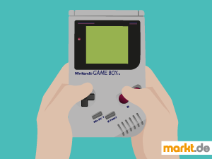 Grafik Nintendo Gameboy