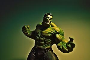 Bild grüner Hulk