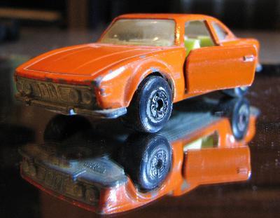 BMW 3.0 CSL Modell Matchbox Superfast