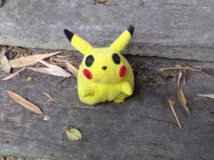 Bild Plüschfigur Pikachu