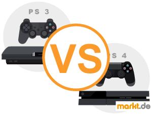 Grafik Vergleich Playstation 3 und 4