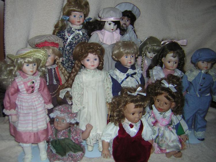 Puppen sammeln