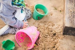 Bild Sand für den Sandkasten