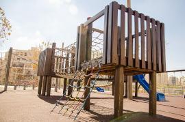 Klettergerüst Spielplatz