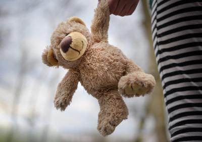 Teddy mit Kind