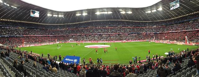 Bild Allianz Arena Tribüne