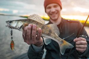 Fisch geangelt