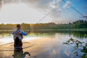 Anglerbedarf Grundausrüstung