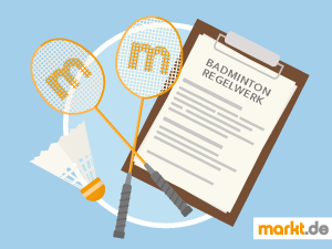 Grafik Badminton Regeln