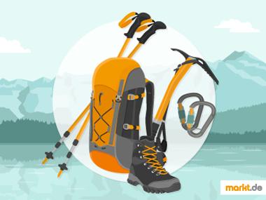 Ausrüstung zum Bergsteigen