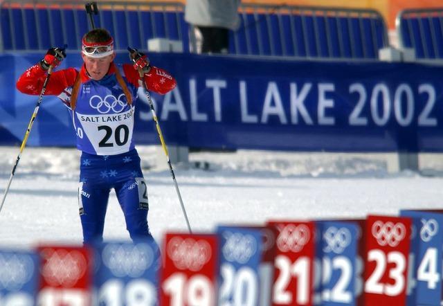 Bild Biathlonläufer